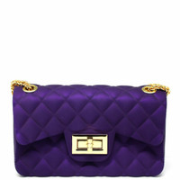 sling bag jelly matte purple