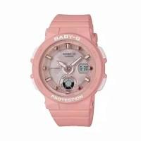 Jam tangan wanita original Casio Baby-G type BGA-250-4ADR warna pink