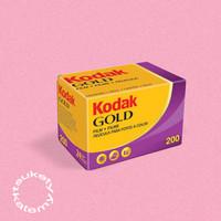 Roll Film Kodak Gold 200