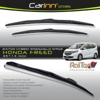 """Raiton Sepasang Wiper Hybrid Kaca Depan Mobil Honda Freed 26""""&14"""""""