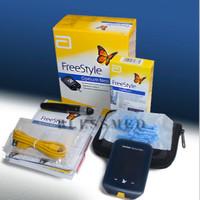 FreeStyle Optium Neo + Strip isi 50 alat cek gula darah