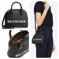 Tas Balenciaga original - Balenciaga mini ville top handle black v