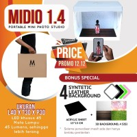 Mini Portable Kit Photo Photography Studio Midio