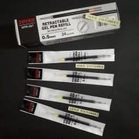 Refill Pen Gel Cetek Joyko 0,5 mm GPR-267 (hitam) untuk Q-GEL ECER!