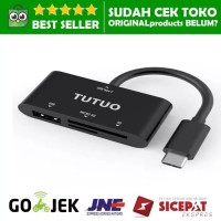 TUTUO CARD READER USB C OTG ADAPTER Type HUB SD Tf micro Multi laptop