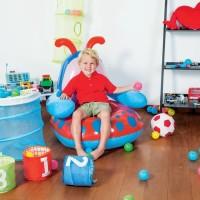 Sofa Angin Anak Lebah / Bee Blue Red Chair Bestway 75061