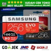 SAMSUNG MICRO SD CARD 256 GB EVO PLUS +c Class 10 MicroSD 256GB 95mbps