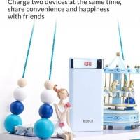 Power Bank Powerbank Robot LCD RT-150 10000mAH
