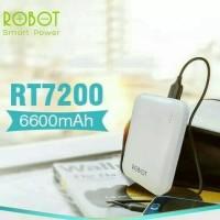 Power Bank Powerbank Robot RT-7200 6600mAH