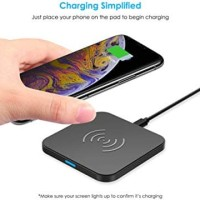 Wireless charger Choetech T511-S 10 W fast charging q3 q2 - Black
