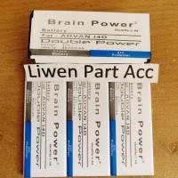 batrai baterai batre advan i4d s4z double power merk brain power 4800m