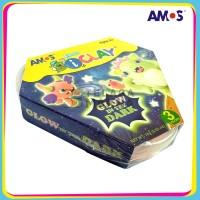 Mainan Anak AMOS I-Clay Glow in the Dark