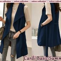 Cardi basic summer Navy [Outwear 0153] SB8 Cardigan
