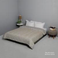 King Rabbit Bed Cover Size Single 140x230 cm Motif Palais Gold