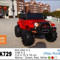 Mainan Mobil Aki Anak Jeep Rubicon Unikid UK-729
