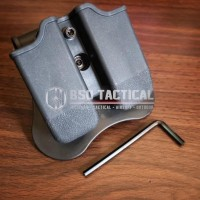 Double Magazine Pouch Tactical Cytac Glock Mag Pouch Holster Airsoft
