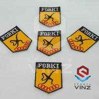 Logo Lambang Badge Emblem Karate Forki