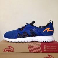 Sale! Sepatu Running/Lari Specs Prelude Navy White 200541 Ori