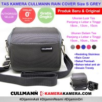 CULLMANN RAIN COVER - Grey Camera Bag for Mirrorless Camera Camcorder