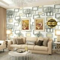 Kotak Kuning Wallpaper Dinding 10M x 45Cm
