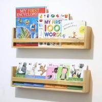 Rak tempat buku kayu jati belanda