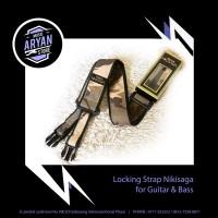 Locking Strap Nikisaga for Guitar & Bass