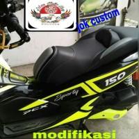 modifikasi jok custom Honda PCX