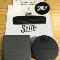 Pomade Smith Clayton Premium Clay Matte Waterbased 1.9 oz (FREE SISIR)