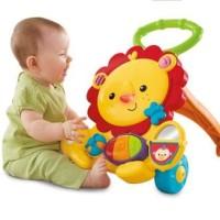 baby Walker Push Walker karakter dengan Music dan Mainan