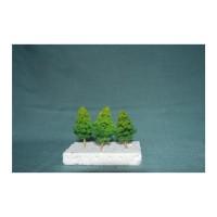 Miniatur Pohon Cemara Cabang Tinggi 9 cm/ maket pohon cemara cabang