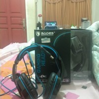 Headset Gaming Sades Wolfgang SA-901