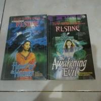 novel fear street sagas second no 9 dan 10 rl stine
