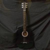 Gitar akustik Yamaha body bulat pemula