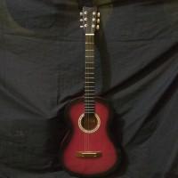 Gitar akustik Pemula Yamaha sunbers red