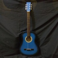 Gitat Akustik Yamaha pemula sunbers blu