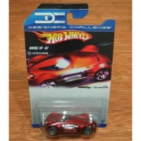Hot Wheels Designers Challenge Dodge XP - 07 XP07 red match colour