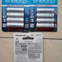 Batre Baterai Panasonic Eneloop Rechargeable 2000 mAh AA