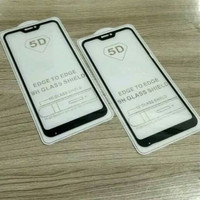 TEMPERED GLASS FULL 5D REDMI 6