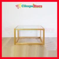 Coffee Table / Meja Tamu Modern Minimalis CUBIX SERIES - Anti Rayap