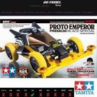 TAMIYA 95450 PROTO EMPEROR PREMIUM BLACK SPECIAL - DASH X1