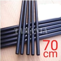 Batang Anak Panah Shaft Fiber 6mm x 4mm x 70cm Spine 1000