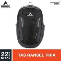 Eiger Strobe Daypack 22L - Black