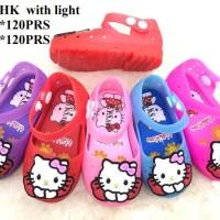 Sepatu Sandal Anak Perempuan Led Hello Kitty Termurah