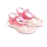 Sandal Anak Wanita Flat Pink Lucu Bagus / Sendal Pesta Anak Perempuan