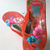 Sandal Jepit Anak Perempuan Sendal Karet Wanita Sendal Cantik Cewek