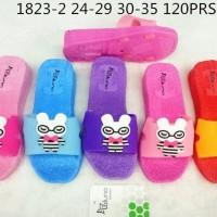 Sandal Selop Anak Perempuan Hello Kitty Pita Termurah