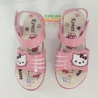 Sandal Anak Let Wedges Kenzi Hello Kitty Hak 4Cm Size 26-35 Pink
