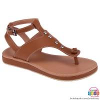 Sandal Anak Perempuan Jepit Original Coklat 31 - 35 Termurah