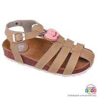 Sandal Anak Perempuan Original Coklat Termurah