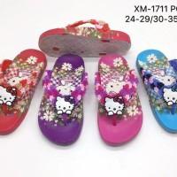Sandal Jepit Anak Perempuan Hello Kitty Bunga Termurah